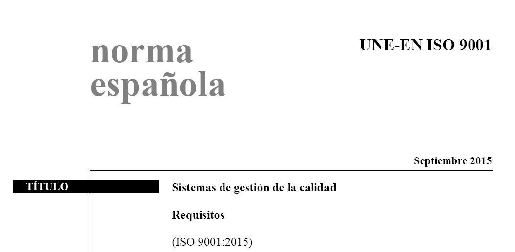 norma internacional iso 14001 version 2015